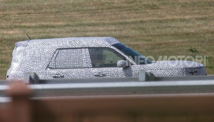 Ford Baby Bronco, prime immagini dei collaudi - Foto 7 di 12