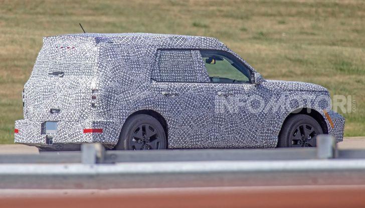 Ford Baby Bronco, prime immagini dei collaudi - Foto 11 di 12
