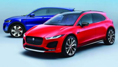 Jaguar A-Pace, il nuovo SUV coupè compatto