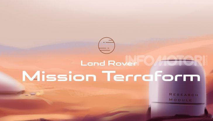Uomo su Marte: Land Rover lo immagina così - Foto 5 di 14