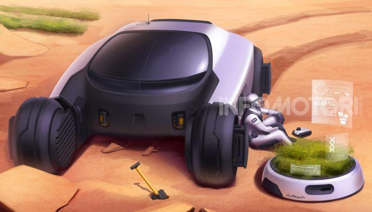 Uomo su Marte: Land Rover lo immagina così - Foto 4 di 14