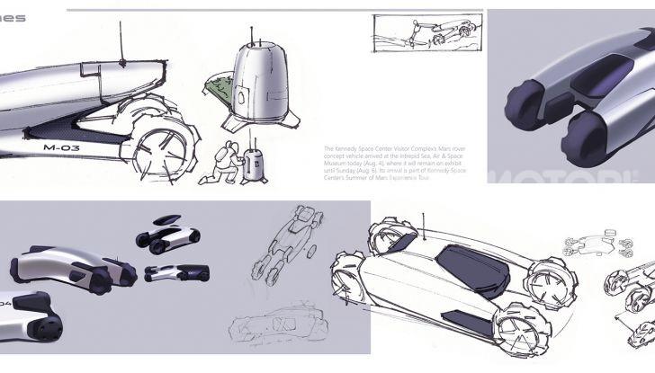 Uomo su Marte: Land Rover lo immagina così - Foto 14 di 14