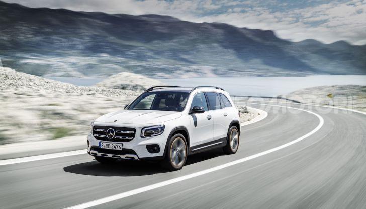 Nuovo Mercedes GLB: prezzi e motori del SUV 7 posti - Foto 1 di 16