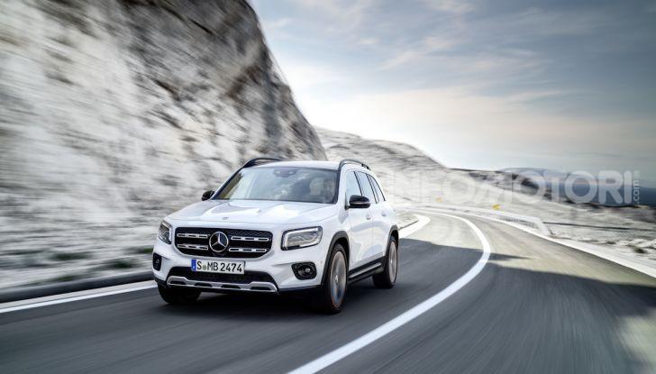 Nuovo Mercedes GLB: prezzi e motori del SUV 7 posti - Foto 3 di 16