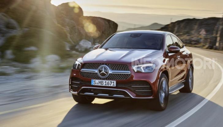 Mercedes GLE Coupé, arriva la seconda generazione - Foto 9 di 11