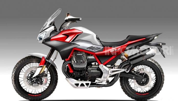 Moto Guzzi V85TT: arriva anche la versione stadale? - Foto 2 di 3