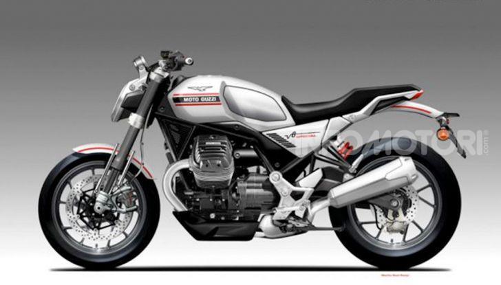 Moto Guzzi V85TT: arriva anche la versione stadale? - Foto 3 di 3