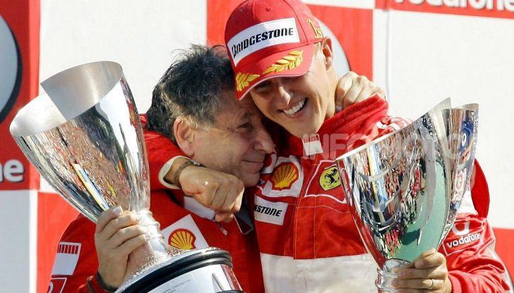 "F1, Jean Todt su Michael Schumacher: ""Non c'è più comunicazione"" - Foto 1 di 10"