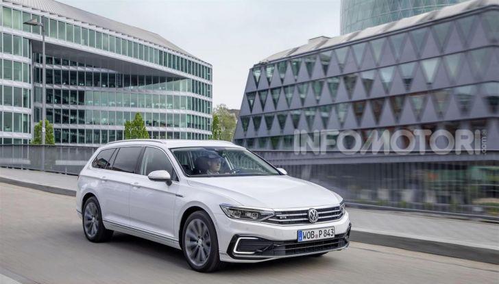 Nuova Volkswagen Passat GTE: instancabile e rispettosa dell'ambiente - Foto 5 di 10