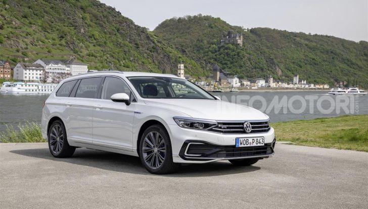 Nuova Volkswagen Passat GTE: instancabile e rispettosa dell'ambiente - Foto 7 di 10