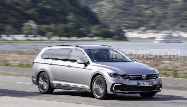 Nuova Volkswagen Passat GTE: instancabile e rispettosa dell'ambiente - Foto 8 di 10