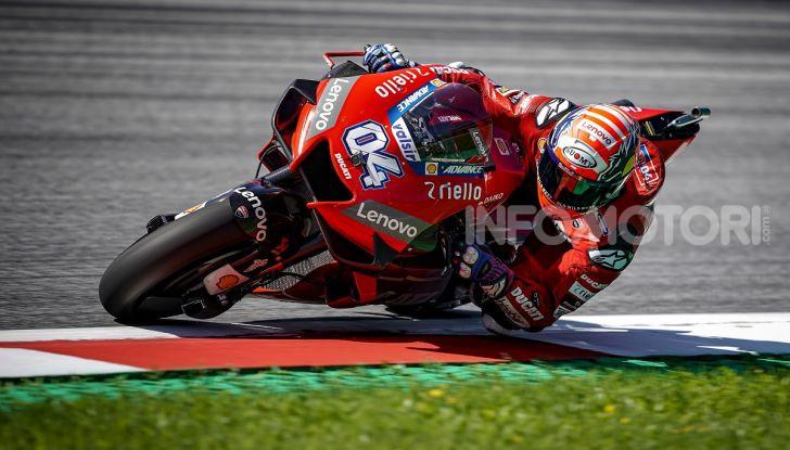 MotoGP 2019, GP d'Austria: Dovizioso batte Marquez all'ultima curva, Ducati ancora regina del Red Bull Ring - Foto 1 di 19