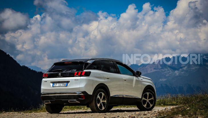 Peugeot 3008 GT Hybrid4, consumi e motori - Foto 14 di 15