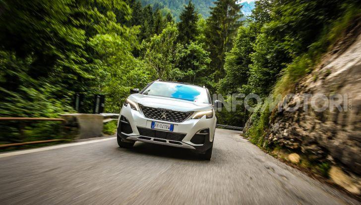 Peugeot 3008 GT Hybrid4, consumi e motori - Foto 5 di 15