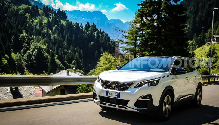 Peugeot 3008 GT Hybrid4, consumi e motori - Foto 7 di 15