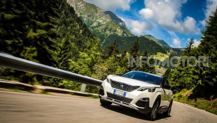 Peugeot 3008 GT Hybrid4, consumi e motori - Foto 9 di 15