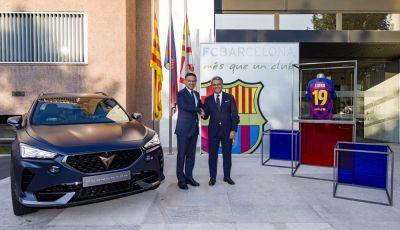 Cupra e Barcellona firmano un accordo per micromobilità e mobilità elettrica