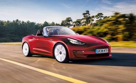 Tesla Model 3 Convertible, arriva la piccola spider elettrica? - Foto 1 di 3
