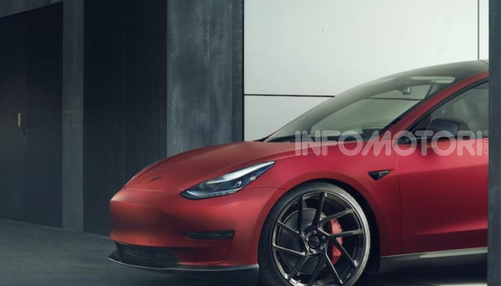 Novitec lancia la sfida: la Tesla Model 3 si fa sportiva - Foto 2 di 8