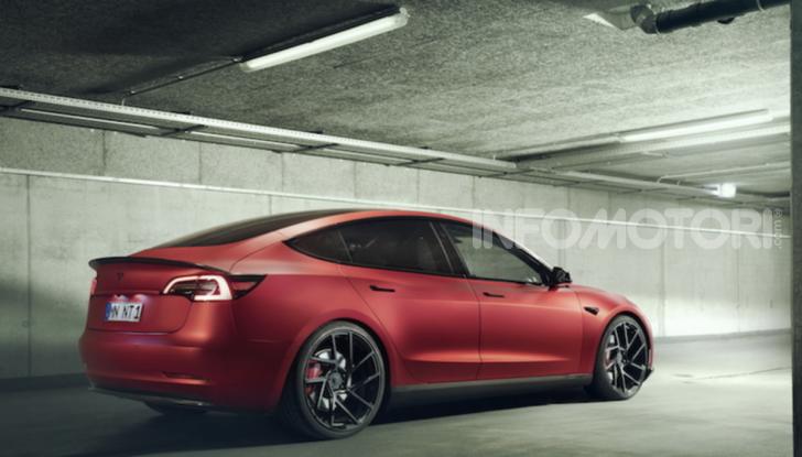 Novitec lancia la sfida: la Tesla Model 3 si fa sportiva - Foto 3 di 8