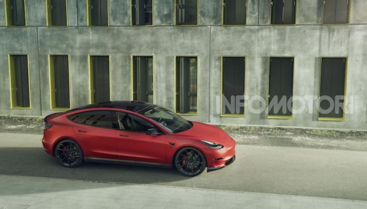 Novitec lancia la sfida: la Tesla Model 3 si fa sportiva - Foto 4 di 8