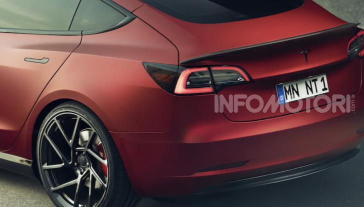Novitec lancia la sfida: la Tesla Model 3 si fa sportiva - Foto 5 di 8