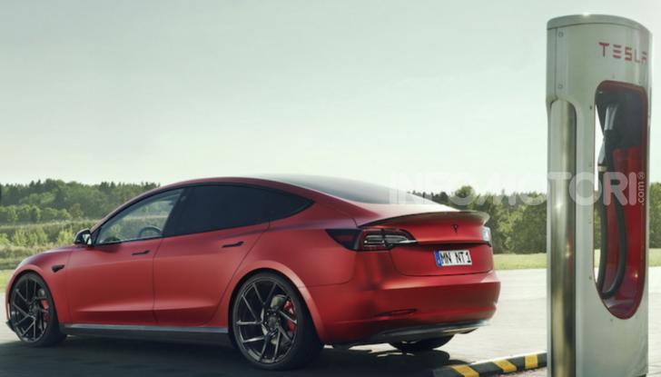 Novitec lancia la sfida: la Tesla Model 3 si fa sportiva - Foto 6 di 8