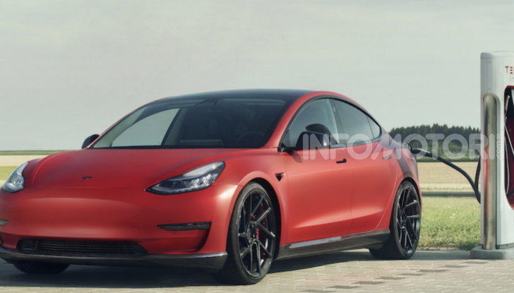 Novitec lancia la sfida: la Tesla Model 3 si fa sportiva - Foto 8 di 8