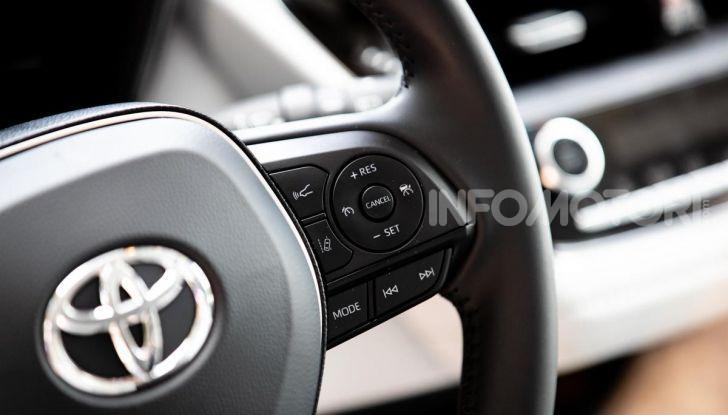 [VIDEO] Prova consumi Toyota Corolla Touring Sports Hybrid 2019 - Foto 18 di 43