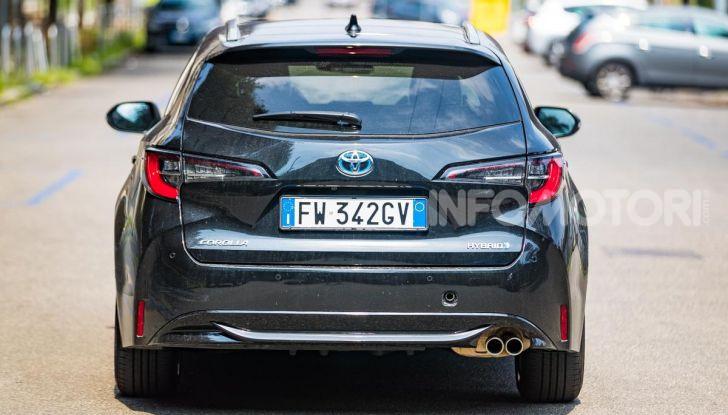 [VIDEO] Prova consumi Toyota Corolla Touring Sports Hybrid 2019 - Foto 23 di 43