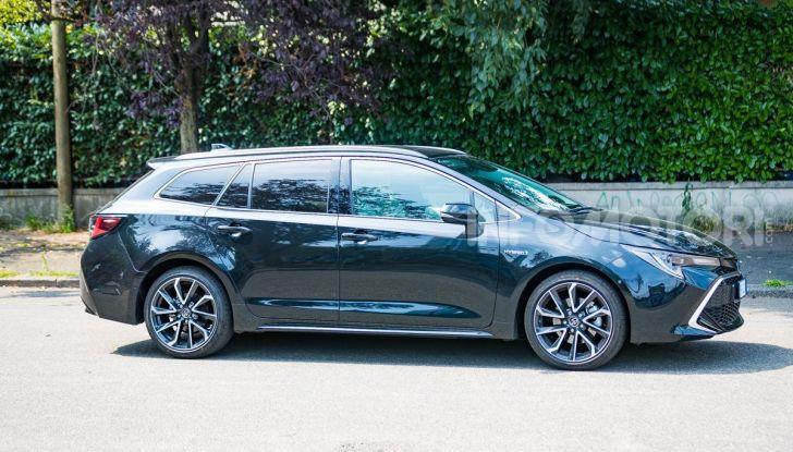 [VIDEO] Prova consumi Toyota Corolla Touring Sports Hybrid 2019 - Foto 27 di 43