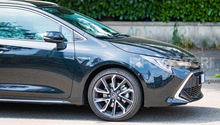 [VIDEO] Prova consumi Toyota Corolla Touring Sports Hybrid 2019 - Foto 28 di 43