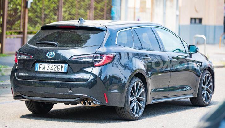 [VIDEO] Prova consumi Toyota Corolla Touring Sports Hybrid 2019 - Foto 30 di 43