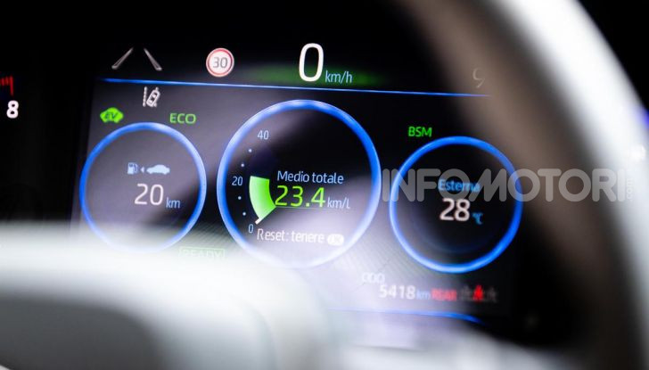 [VIDEO] Prova consumi Toyota Corolla Touring Sports Hybrid 2019 - Foto 32 di 43