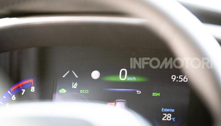 [VIDEO] Prova consumi Toyota Corolla Touring Sports Hybrid 2019 - Foto 38 di 43