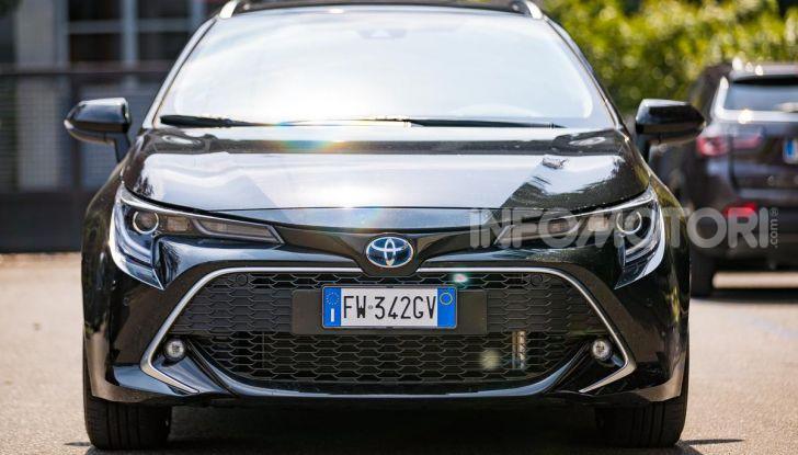 [VIDEO] Prova consumi Toyota Corolla Touring Sports Hybrid 2019 - Foto 2 di 43