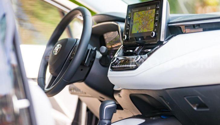 [VIDEO] Prova consumi Toyota Corolla Touring Sports Hybrid 2019 - Foto 41 di 43