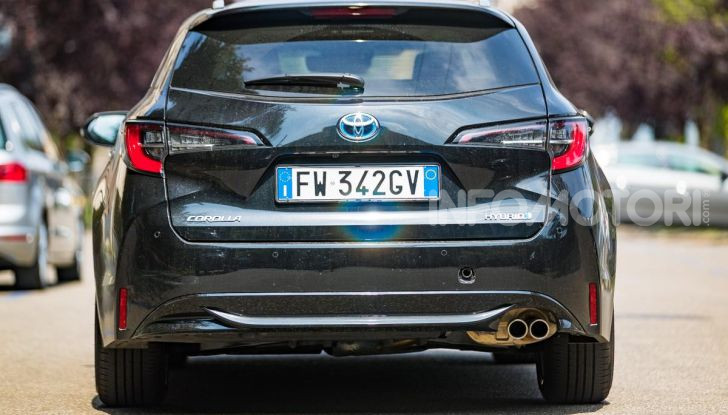 [VIDEO] Prova consumi Toyota Corolla Touring Sports Hybrid 2019 - Foto 9 di 43