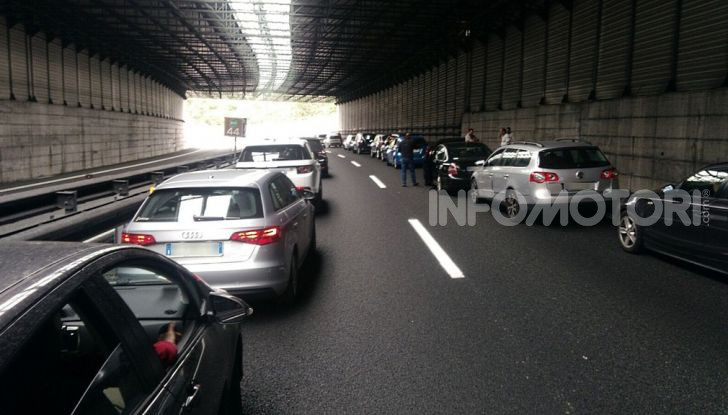 Traffico Genova autostrada