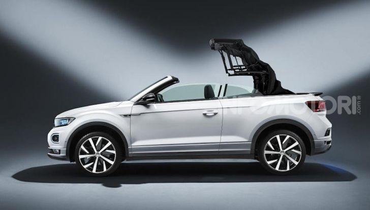 Volskwagen T-Roc Cabriolet: il SUV vista cielo - Foto 2 di 6
