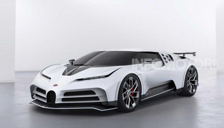 Bugatti Centodieci, 10 esemplari a 8 milioni di euro - Foto 7 di 13