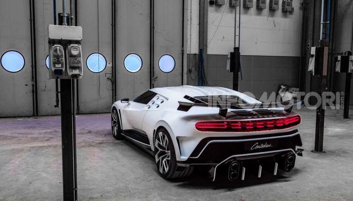 Bugatti Centodieci, 10 esemplari a 8 milioni di euro - Foto 3 di 13