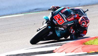 MotoGP 2019, Test Misano – Day 2: Quartararo di nuovo al vertice con la Yamaha Petronas davanti a Petrucci e Morbidelli