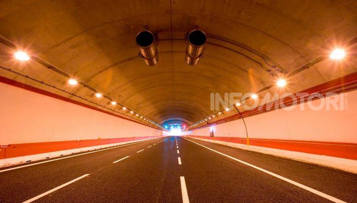 Traforo del Gran Sasso chiuso per lavori dal 30 settembre al 4 ottobre - Foto 5 di 13