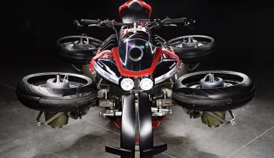 Moto volante? Honda deposita i brevetti delle due ruote del futuro