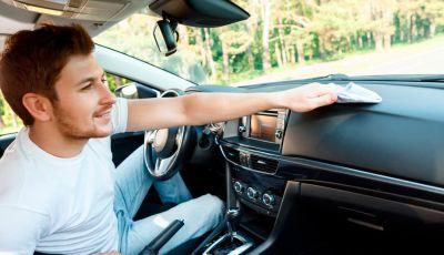 Pulizia degli interni dell'auto: tutto quello che bisogna sapere