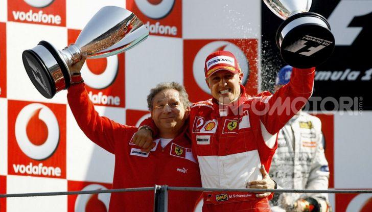 "F1, Jean Todt su Michael Schumacher: ""Non c'è più comunicazione"" - Foto 2 di 10"