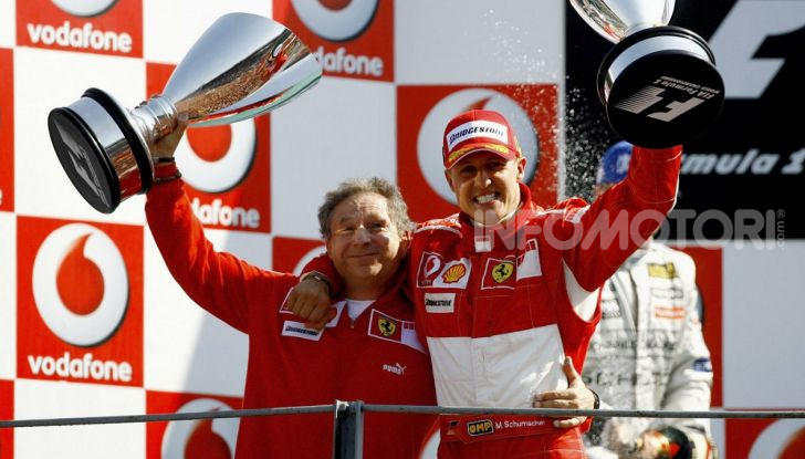 "F1, Jean Todt su Michael Schumacher: ""Non c'è più comunicazione"" - Foto 4 di 13"