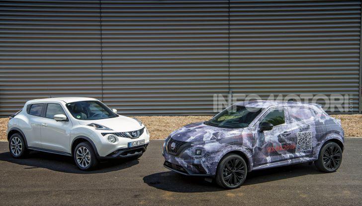 Nuova Nissan Juke 2020: la seconda generazione pronta al debutto - Foto 2 di 12