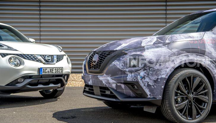 Nuova Nissan Juke 2020: la seconda generazione pronta al debutto - Foto 7 di 12